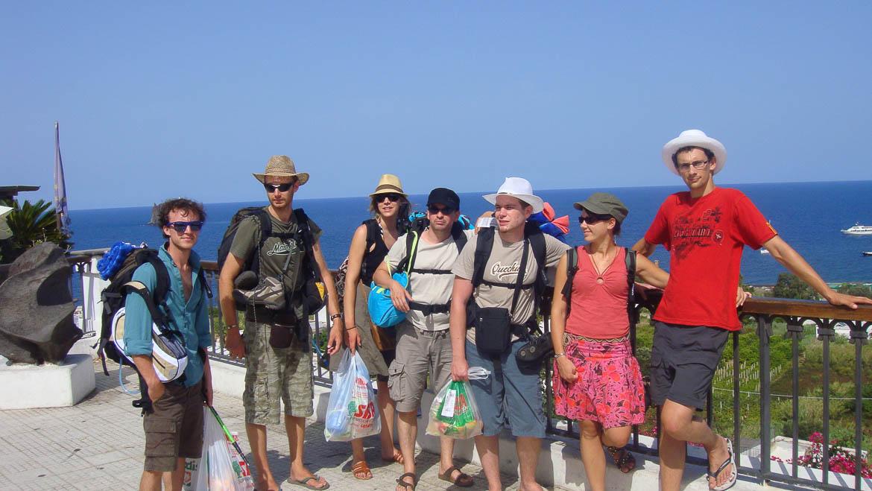 En mode routard en Sicile et sur les îles Eoliennes (voyage à 8)