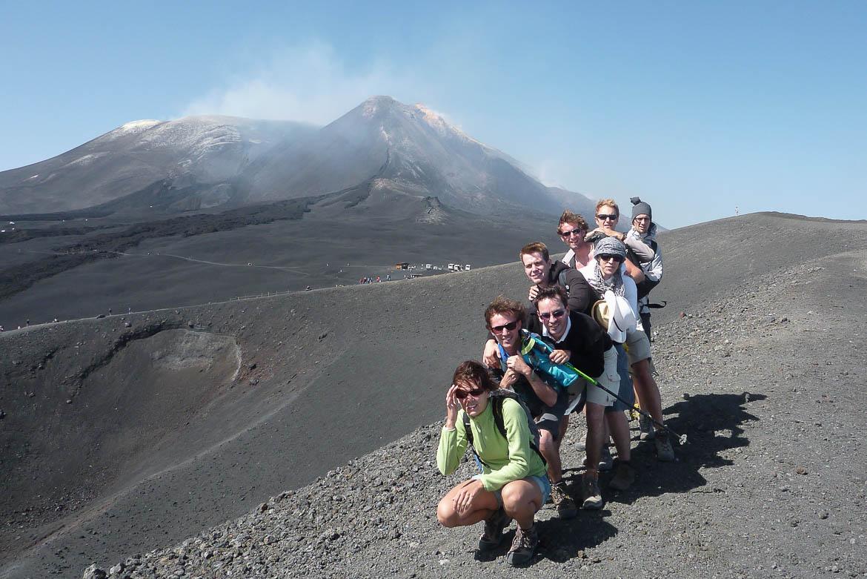 Voyage à 8 en Sicile : ascension de l'Etna