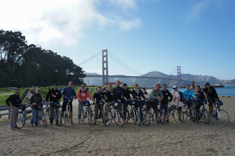 Une activité à 17? C'est possible! Comme ici avec une sortie vélo à San Fransisco