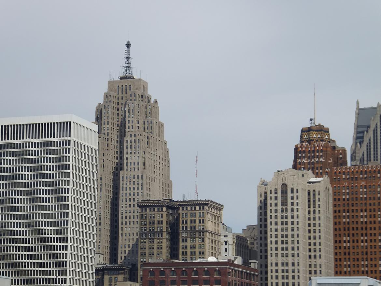 Skyline de Detroit