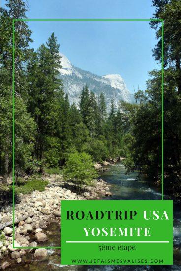 Nous avons passé une journée dans le parc de Yosemite. Nous laissons découvrir ce lieu magique qui mérite que l'on s'y attarde un peu plus.