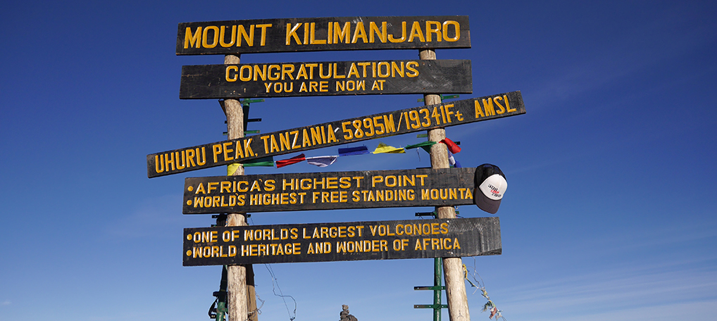 Aus ommet du Kilimanjaro