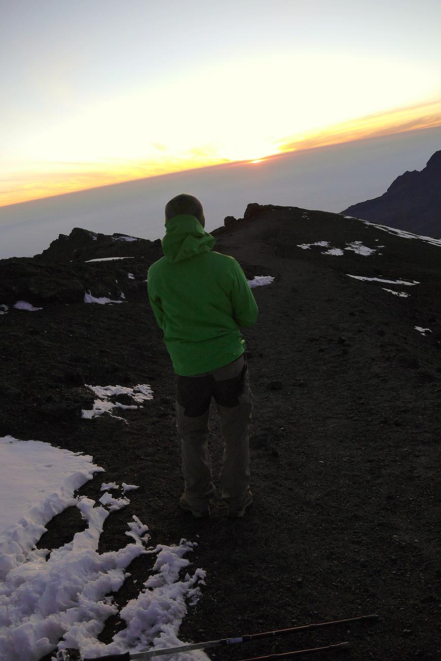 Lever de soleil vu du Kilimandjaro