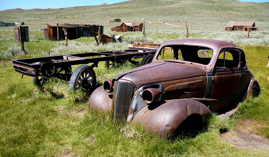 Bodie et ses vieilles voitures