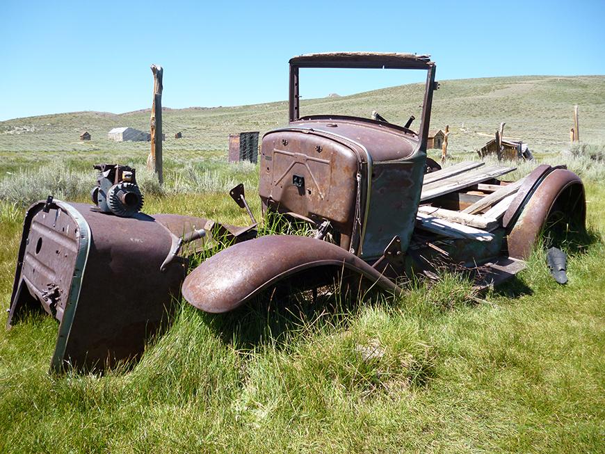 Bodie : vieux camion
