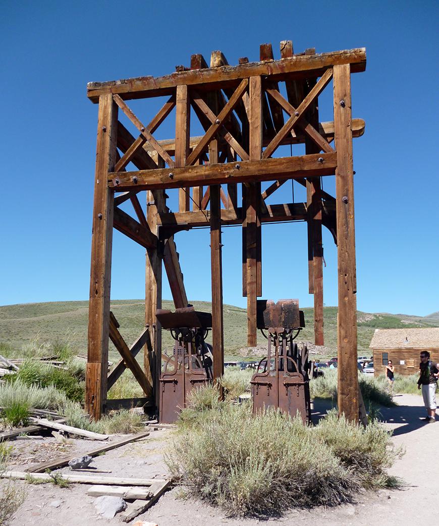 Anciens puits de pétrole
