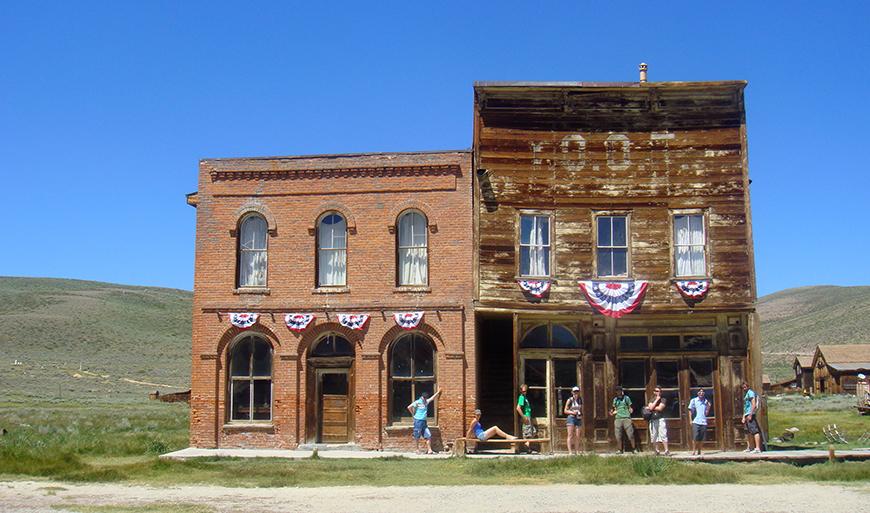 Bodie, sa banque et son saloon