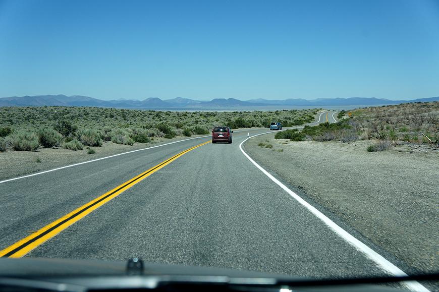 Direction Mono Lake