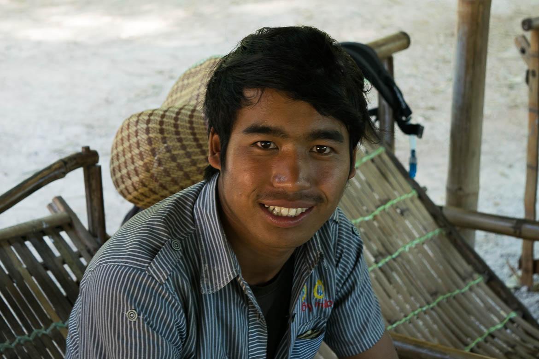 Zaw, notre guide pendant le trek