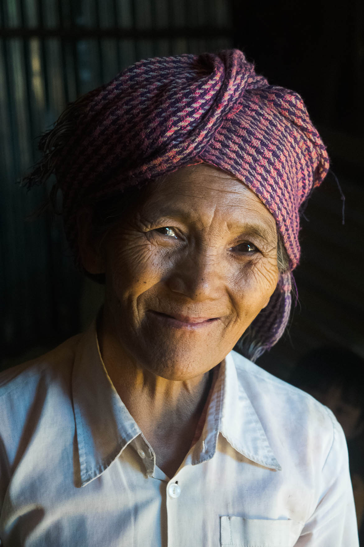 Maman de Zaw notre guide en Birmanie