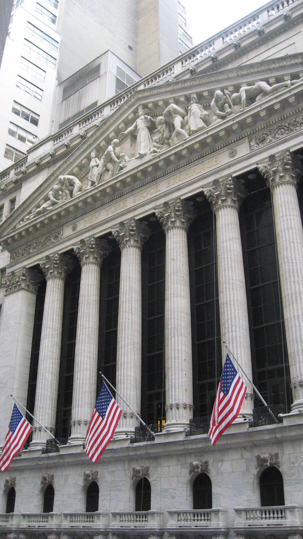 New York Stock Exchange - Wall Street