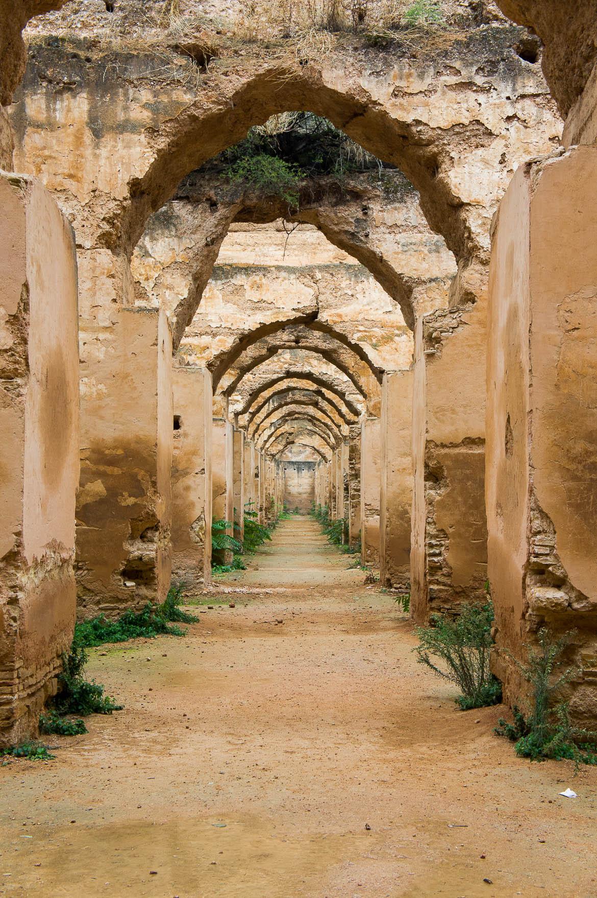 Heri es-Souani, écuries? greniers? à Meknes