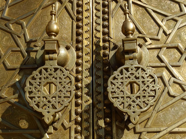 Porte Palais Royal, Fez