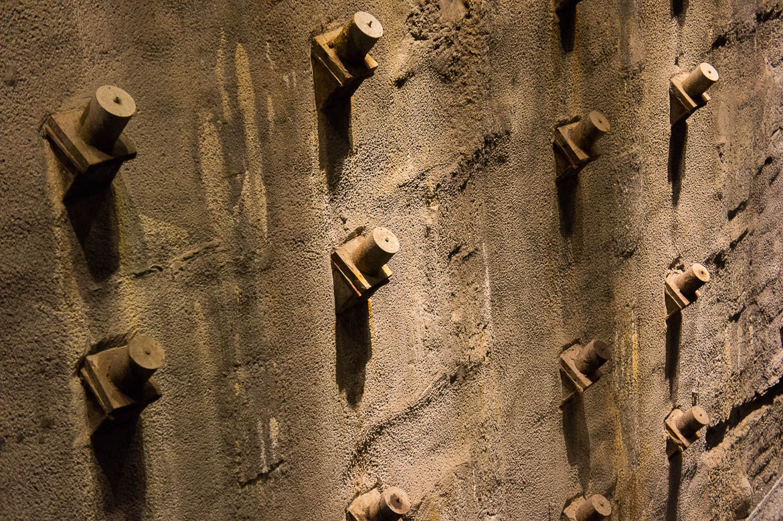 Mur de fondation du World Trade Center pour empêcher les inondations