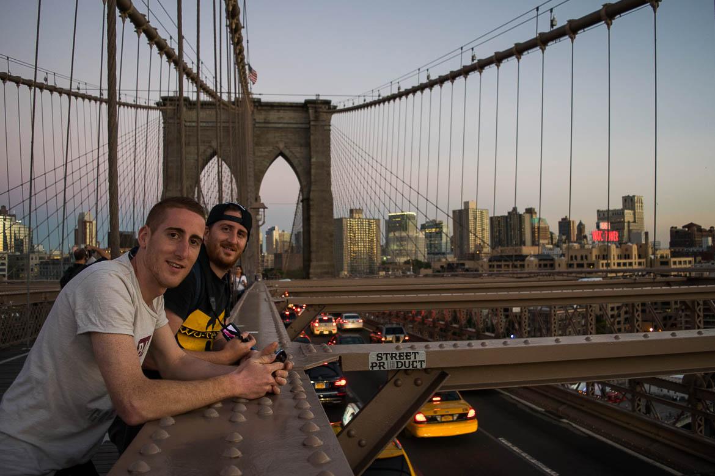 Sur le Brooklyn Bridge - New York