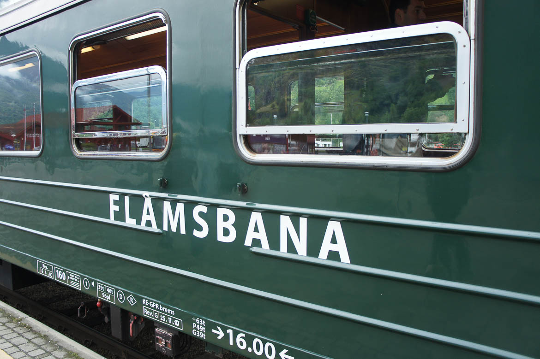 Flåmsbana : ligne de train reliant Flåm à Myrdal