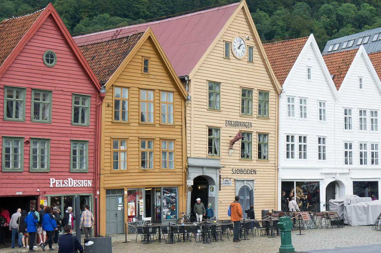 Bryggen, le vieux quai de Bergen