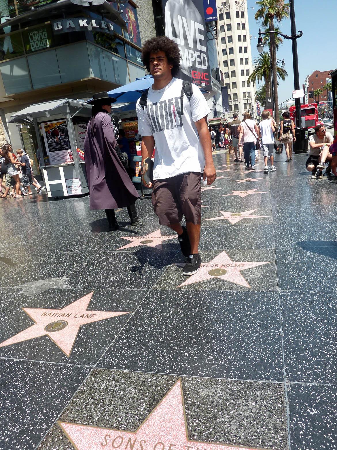 Etoiles sur Hollywood Boulevard