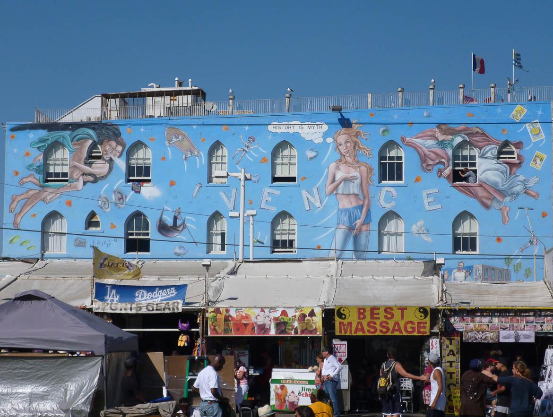 Devanture de Venice Beach
