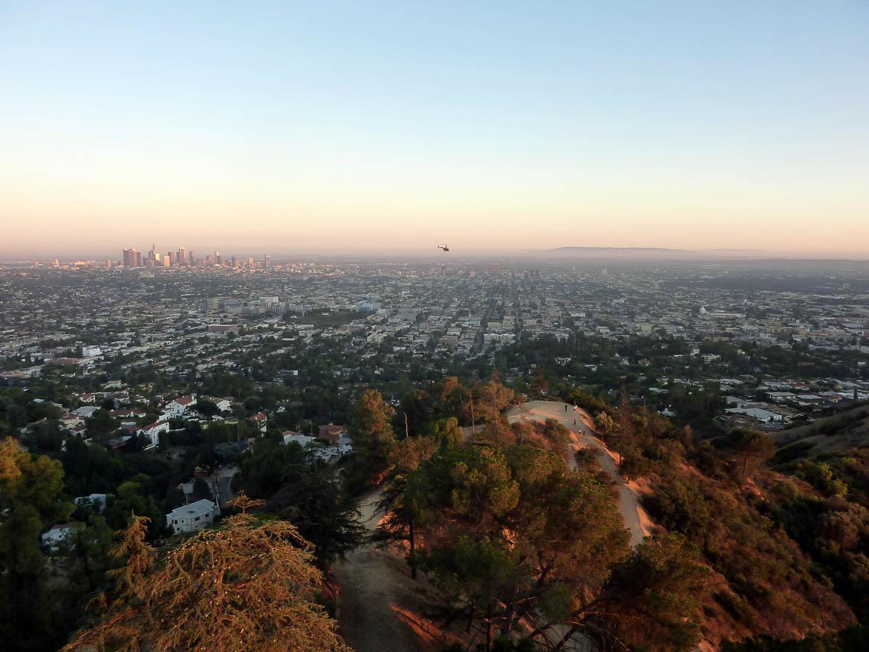 Vue sur Los Angeles depuis le Griffith Park