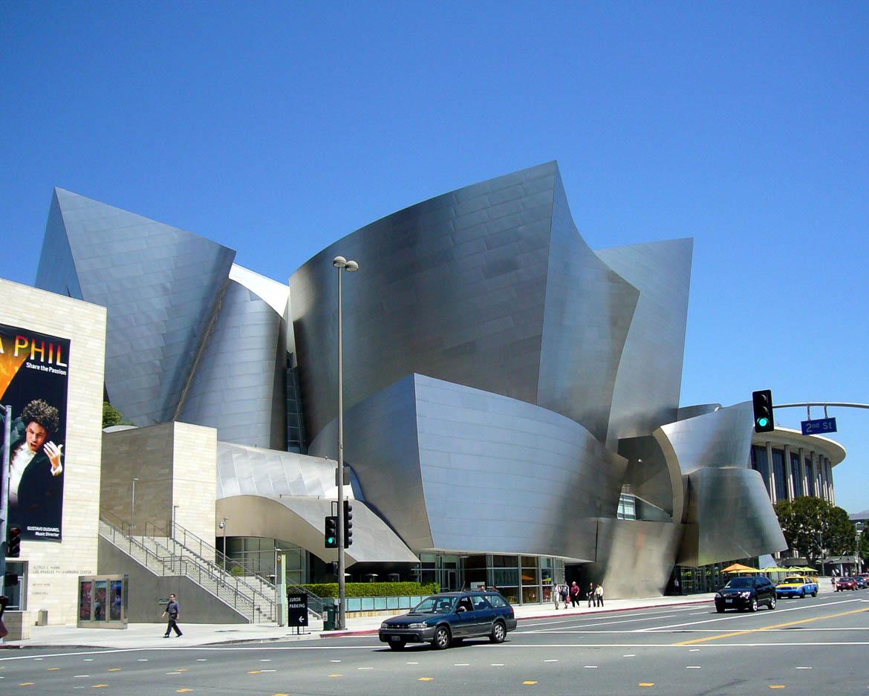 Walt Disney Concert Hall - Siège de l'orchestre philarmonique de Los Angeles