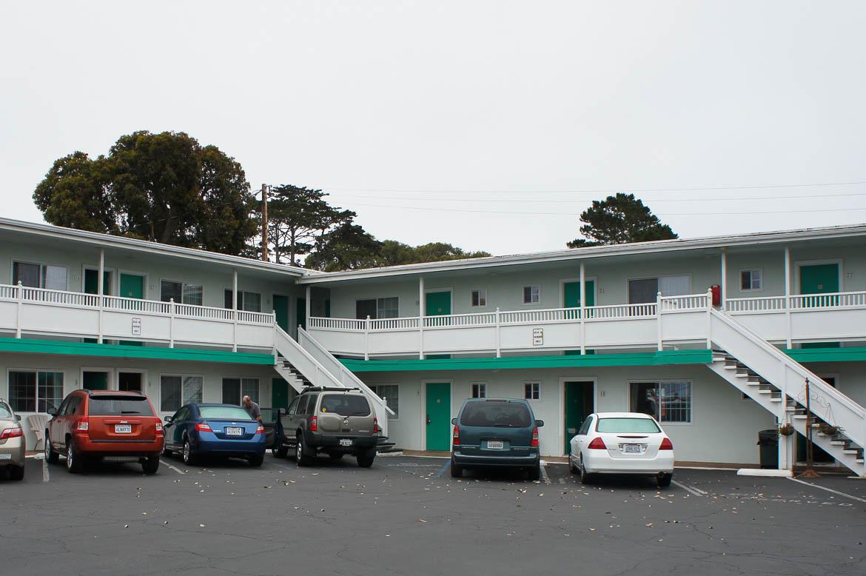 Motel typique des Etats-Unis