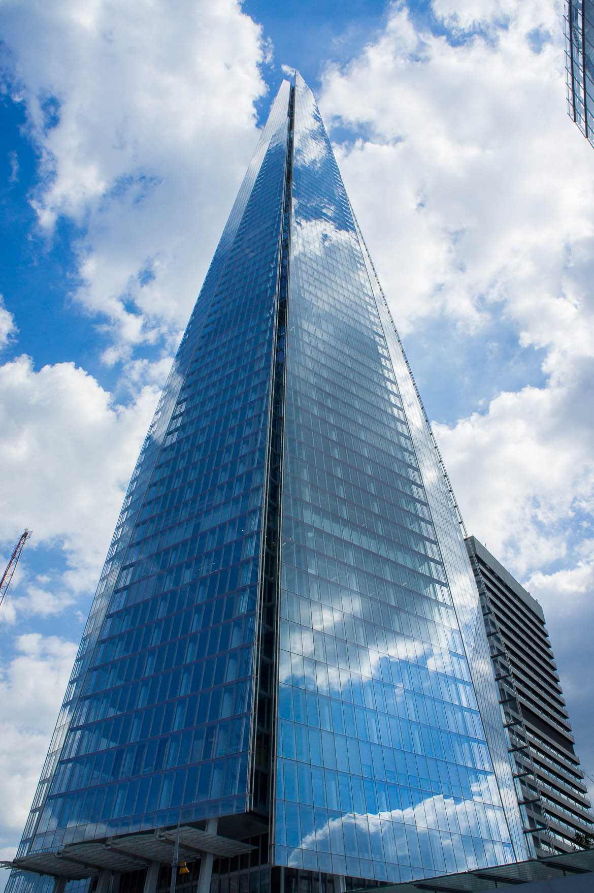 Au pied de The Shard