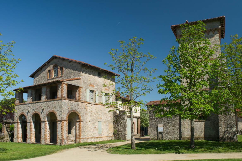 La Maison du Jardinier (réplique des fermes de Toscane)