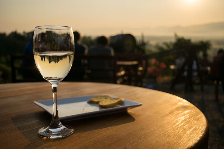 Dégustation de vin de la Red Mountain