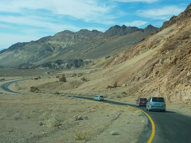 En route pour Mozaïc Canyon