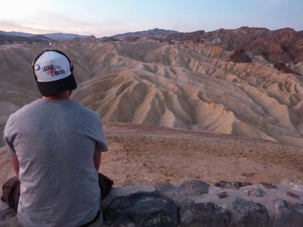 Sunrise sur Zabriskie Point