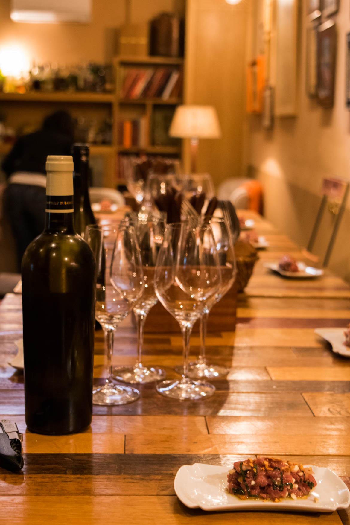 Pas de repas sans un bon vin Corse!