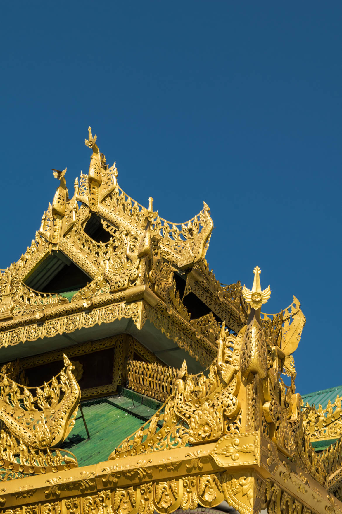 Détail de la Paya Schwedagon