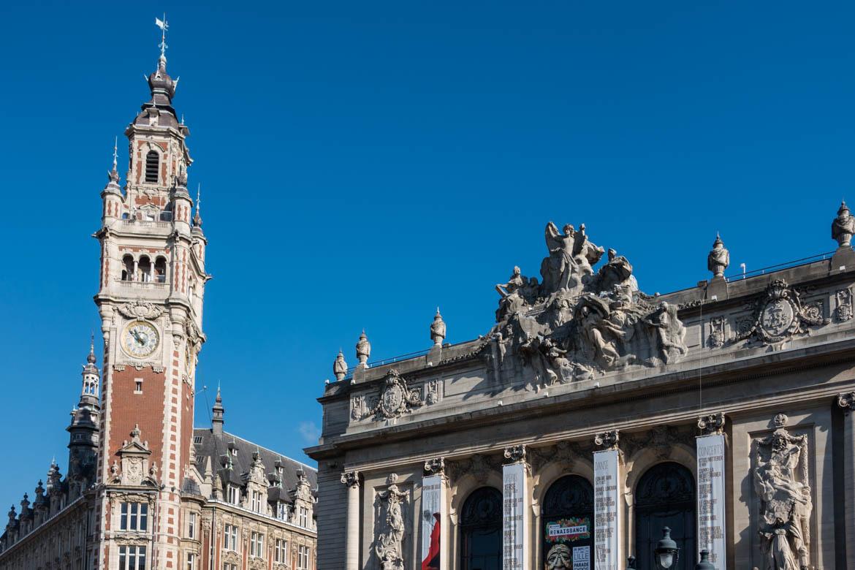 Opéra et beffroi de Lille