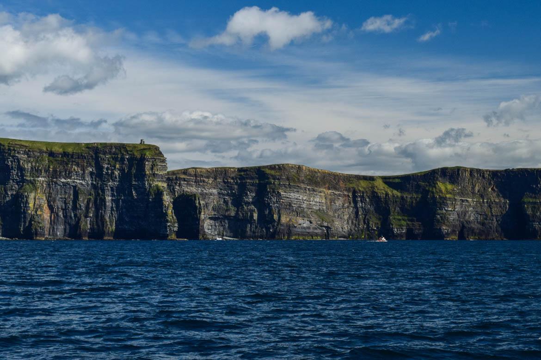 Cliffs of Moher vues du bateau