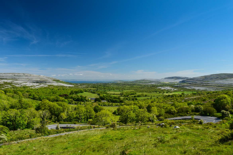 Les collines de pierre du Burren