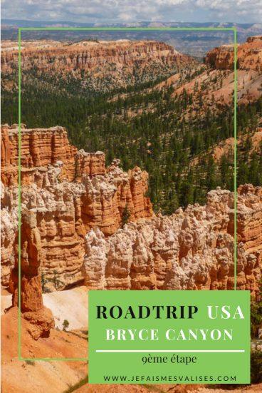 Bryce Canyon : beaucoup vous diront que c'est leur parc préféré. Venez découvrir les hoodoos de Bryce et cette couleur orange omniprésente.