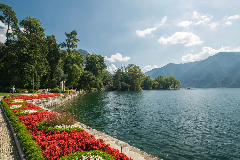 Lugano, parc Ciani