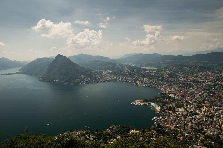 Vue depuis le Monte Bre - Lugano