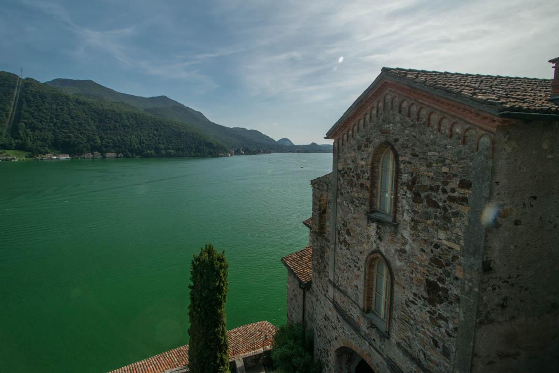 Eglise Santa Maria del Sasso, Morcote - Lac de Lugano