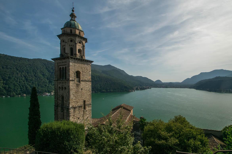 Eglise Santa Maria del Sasso, Morcotte - Lac de Lugano