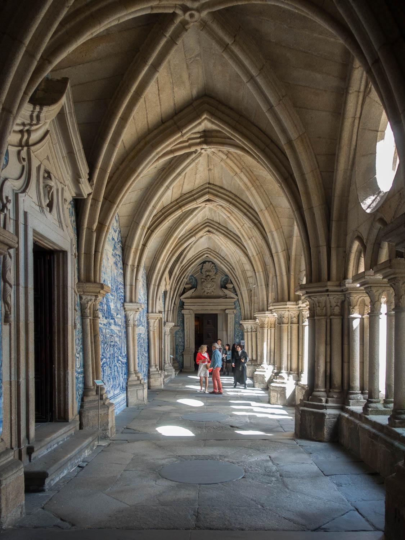 Cloître de la cathédrale Sé