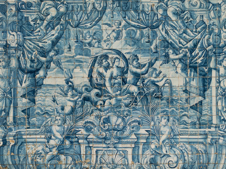 Azulejos de la Cathédrale Sé
