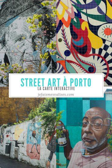 Porto regorge de street art qui s'est développé ces dernières années. On vous recense quelques uns d'entre eux dans une carte interactive.