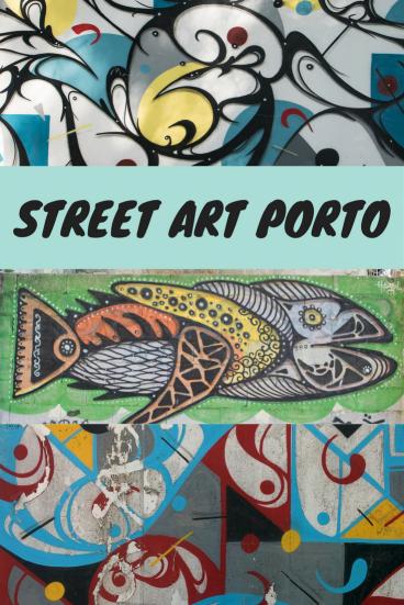 Street Art Porto Pin