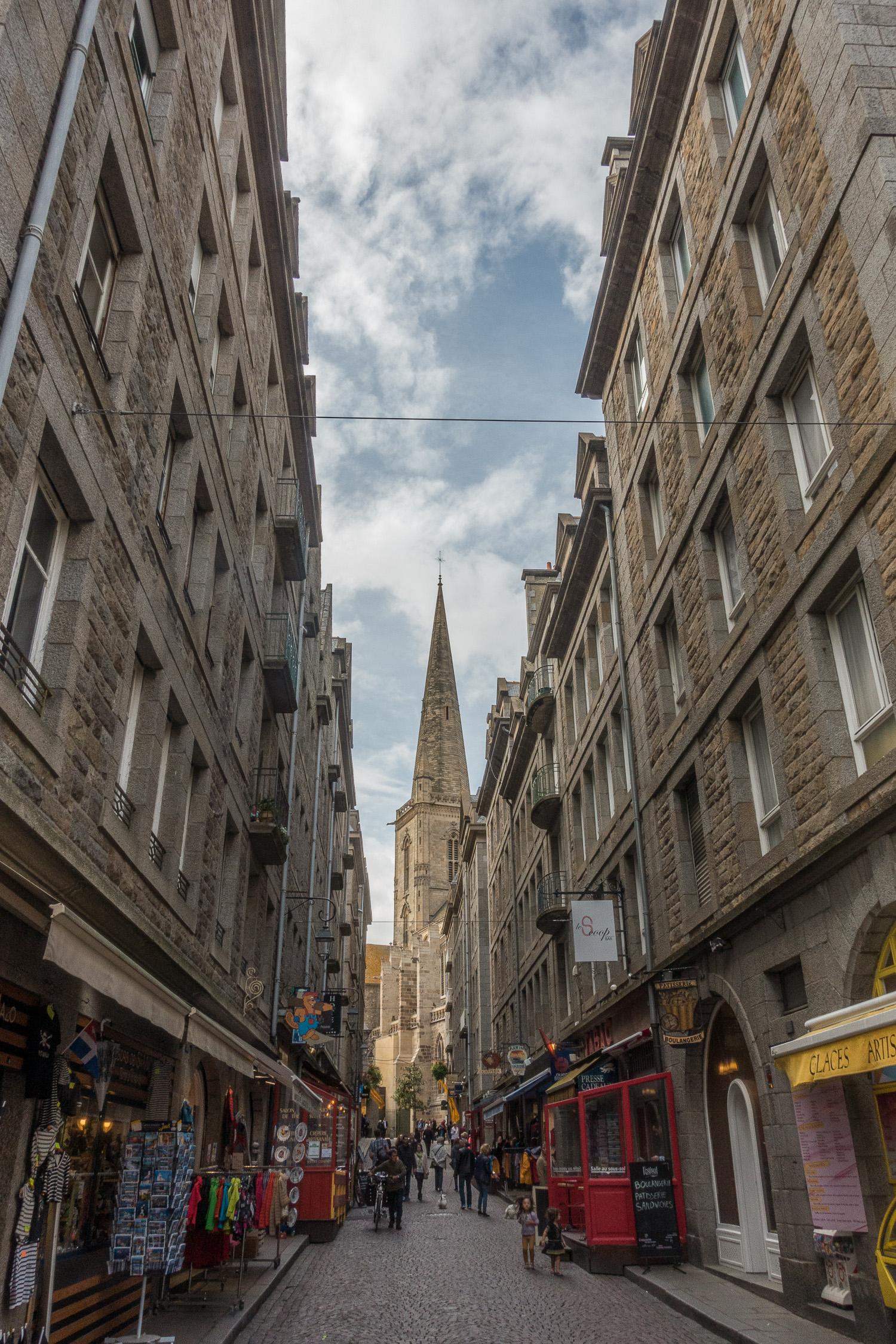 Dans les rues de Saint-Malo