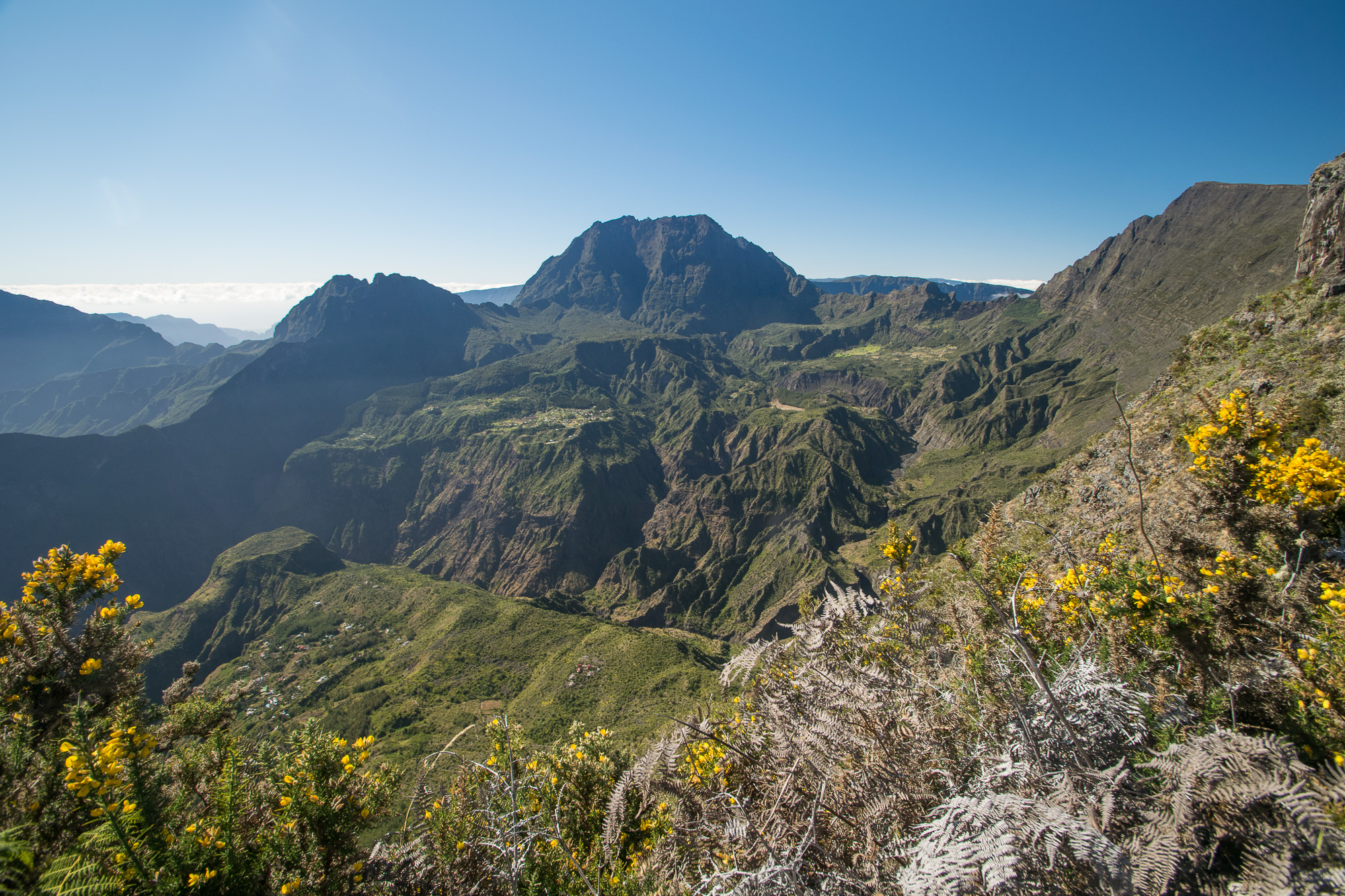 Vue depuis Maïdo, La Réunion
