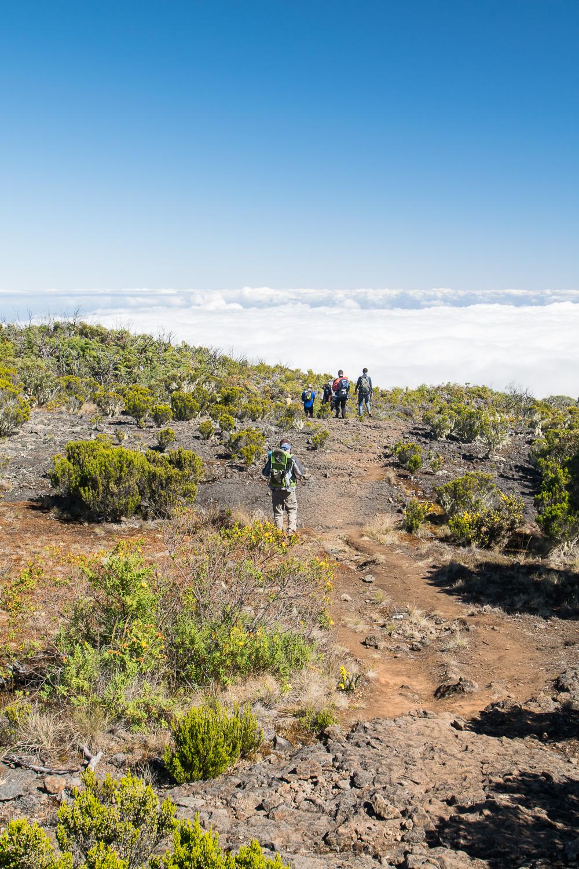 Randonnée au Pas des Sables, La Réunion