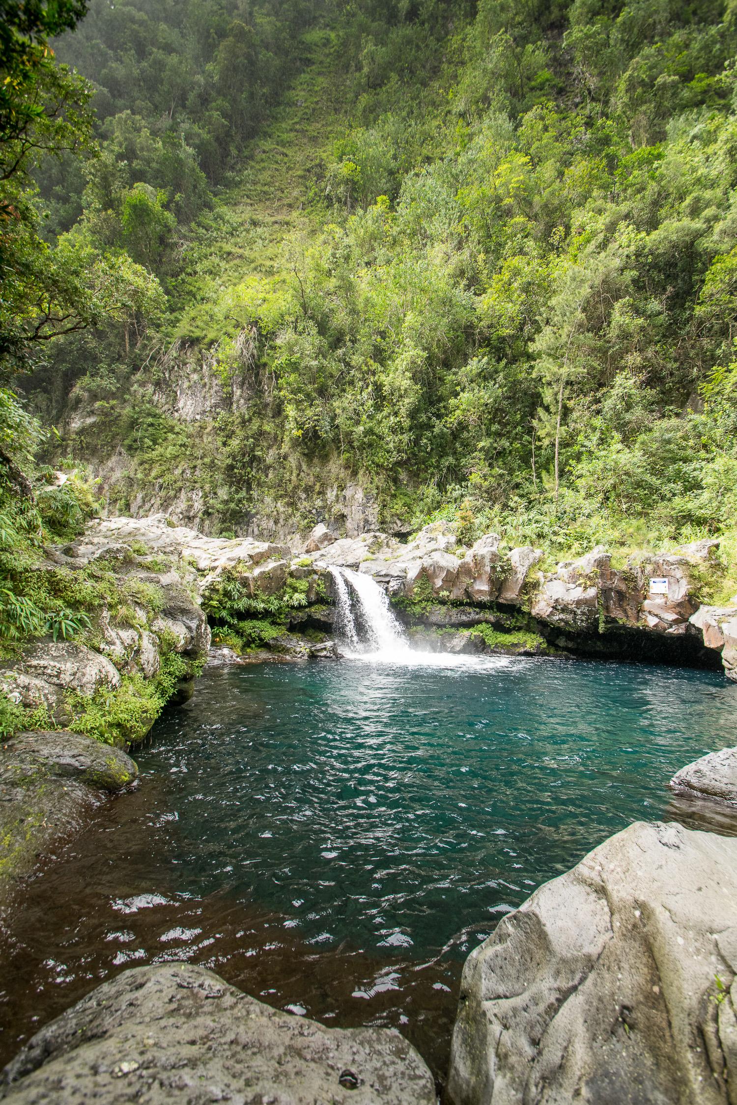 Cascade de Grand Galet, La Réunion