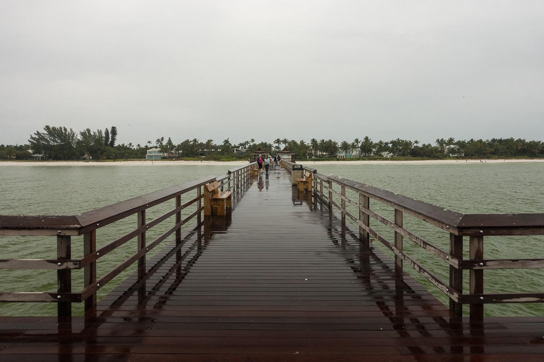 Jetée de Naples, Floride, USA